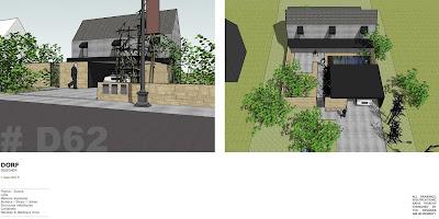 Dorf fr designer d62 maison container etage beton for Maison container suisse
