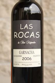 2006 Las Rocas de San Alejandro Garnacha