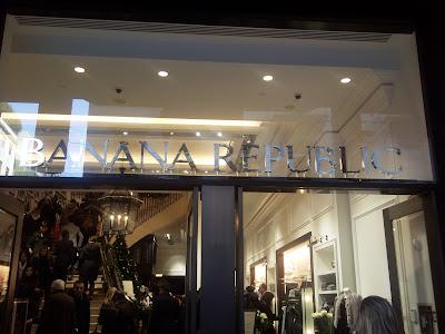Banana republic a milano e aggiornamenti milano e il for Banana republic milano sito ufficiale