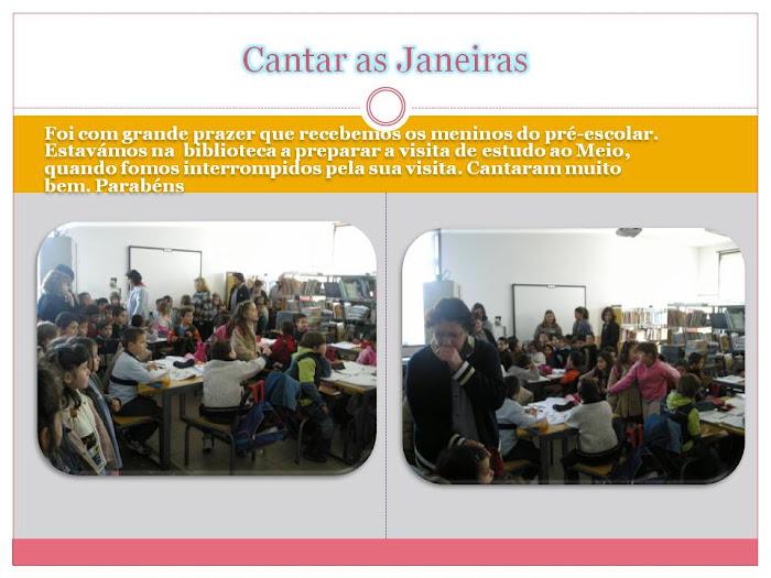 Visita dos alunos do Pré-escolar