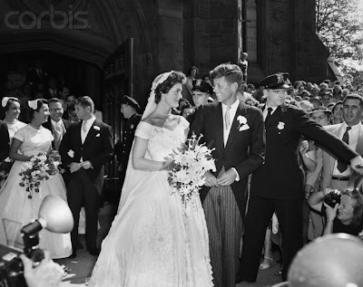 Jacqueline Lee Bouvier and John F Kennedy were married on September 12