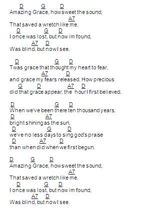 This Is Our Vision Be Thou My Vision Amazing Grace Chords