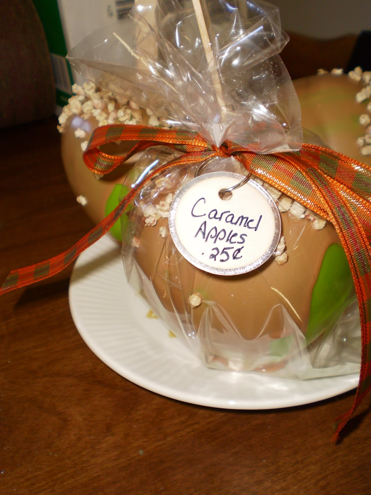 One Simple Country Girl How To Tuesday Faux Caramel Apples