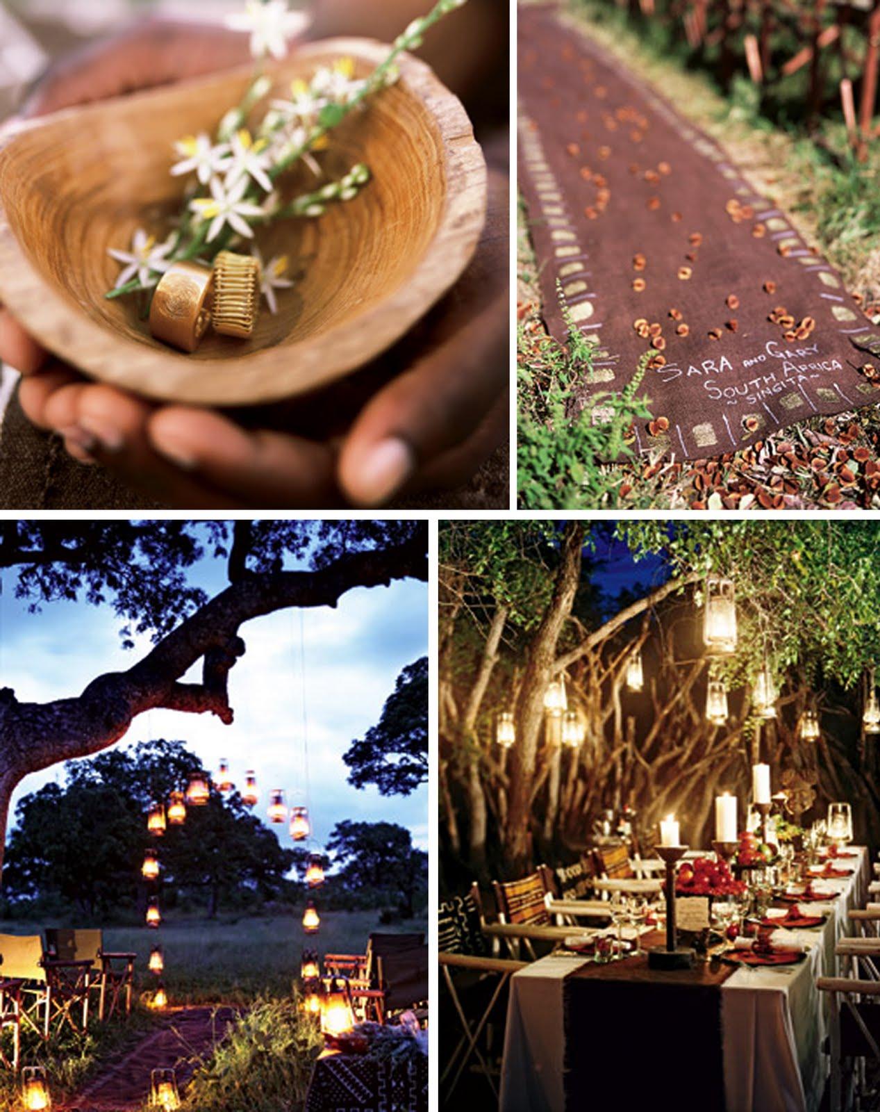Outdoor Themed Wedding