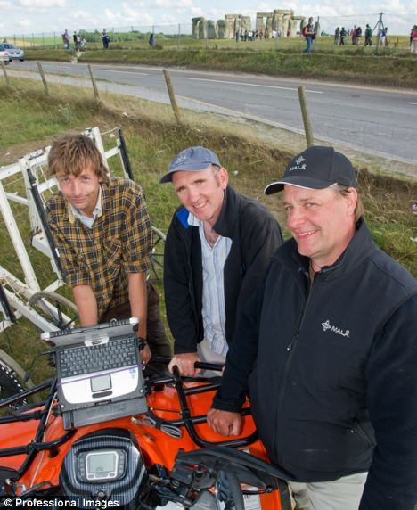 Archaeologists are using technology known as 'ground-penetrating radar' to ...