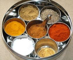 Hindi-Englanti-Suomi Ruokasanakirja
