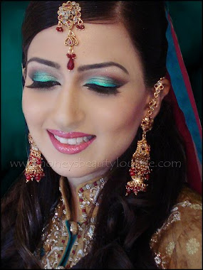 Make up indian artististic