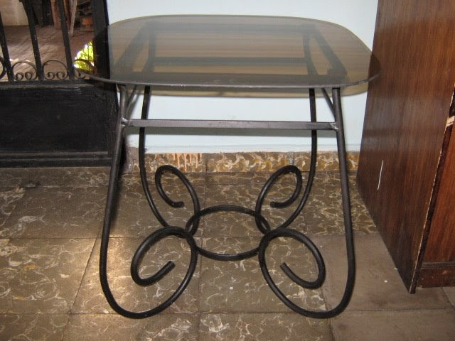De todo en estructuras muebles en hierro forjado for Muebles de fierro forjado