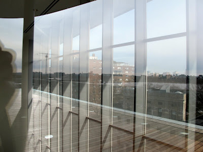 Fumihiko Maki MIT Media Lab Cambridge Massachusetts transparency to city upstairs