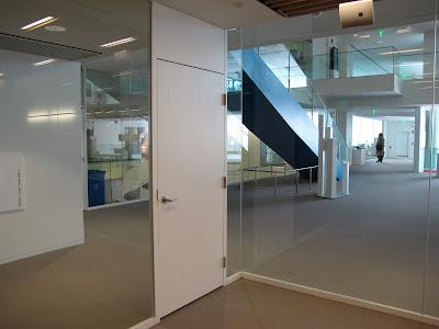 Fumihiko Maki MIT Media Lab Cambridge Massachusetts diagonal views office glass