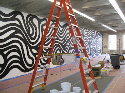 Sol LeWitt, MASS MoCA, wall painting