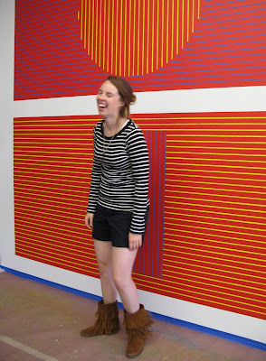 LeWitt, MASS MoCA, wall painting