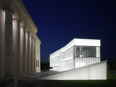 Steven Holl Bloch wing addition to the Nelson Atkins Museum in Kansas City