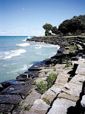 Promontory Point in Hyde Park, Chicago