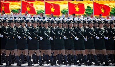 Tiananmen Square People's Liberation Army