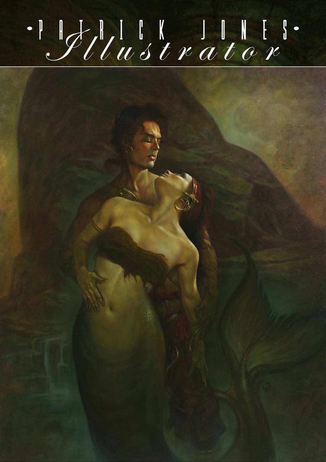 Patrick Jones SF & Fantasy Illustrator
