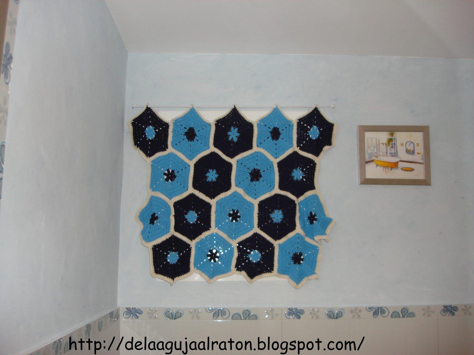 Cortinas De Baño A Crochet:Cortinas En Crochet