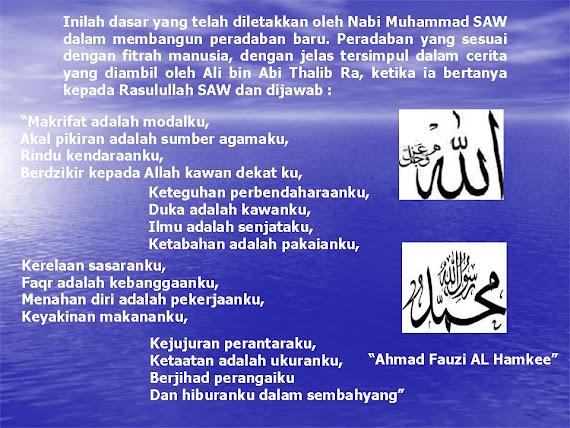 """""""PERADABAN BARU ISLAM (FITRAH MANUSIA)"""""""