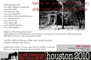 Artcrawl 2010 Poet Radames Ortiz