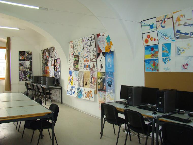 Studio design grafic la facultate