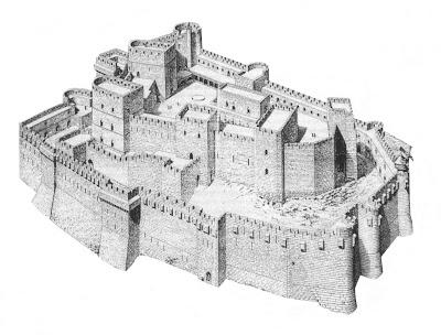 Le Chateau des Templiers dans L'ordre des Templiers f_krak_chevaliers2