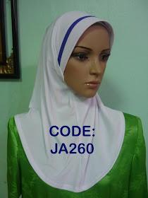 Ready Stock - JA260 (white)  RM25 (tidak termasuk kos pos). Beli byk boleh di kurangkan harganya.