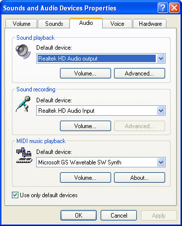 Realtek driver for ALC665 and Windows 7 32bit