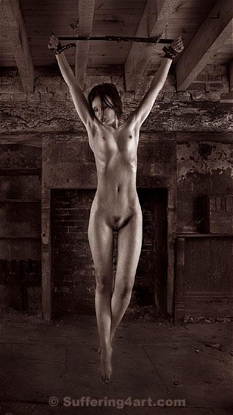 naked suspension bdsm