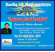 "Escucha ""ANIMESE, USTED TAMBIEN"" en Radio Mi País - Martes 15 a 16 hs"