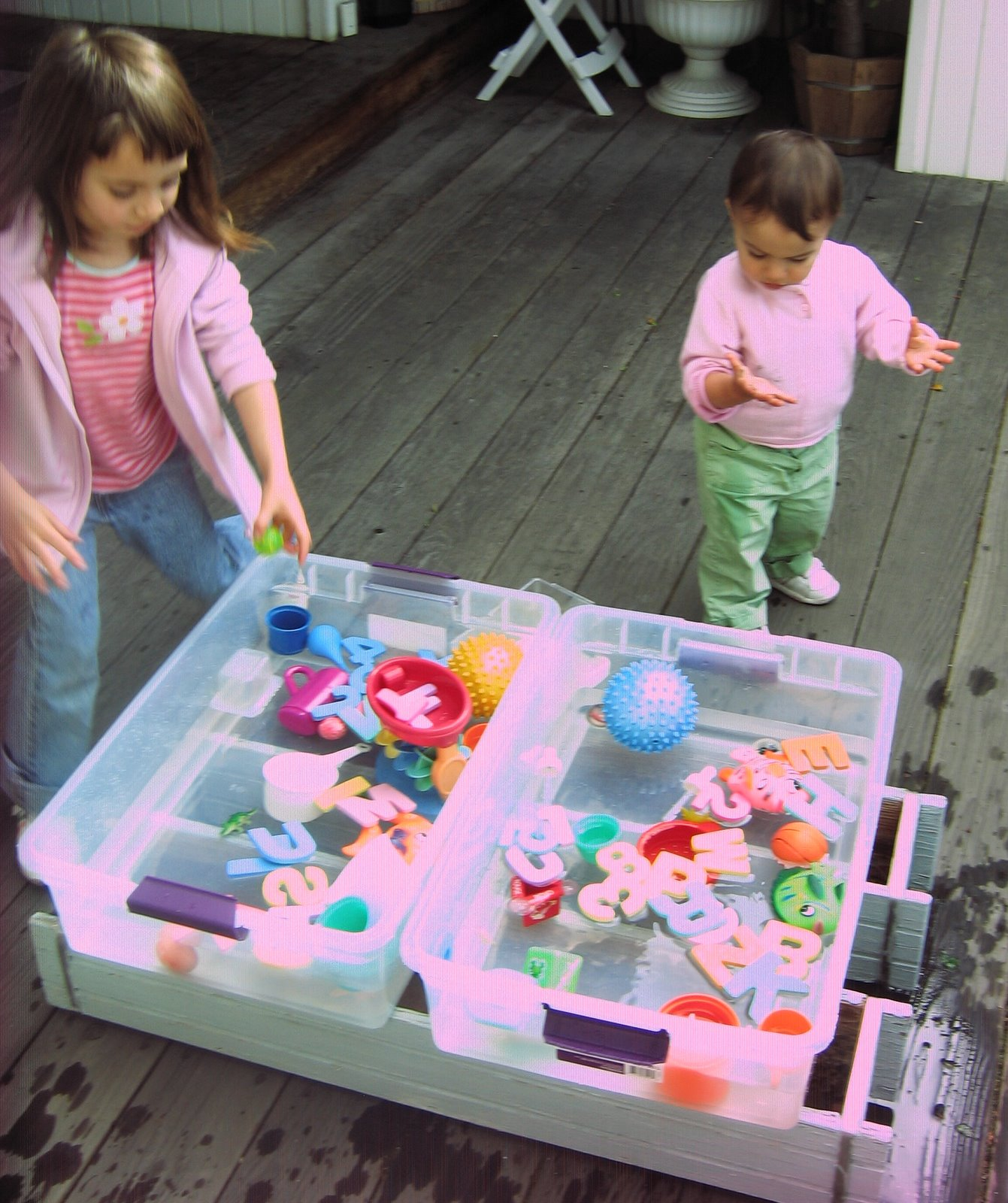 Portable Play Table : Cheap great portable water play table