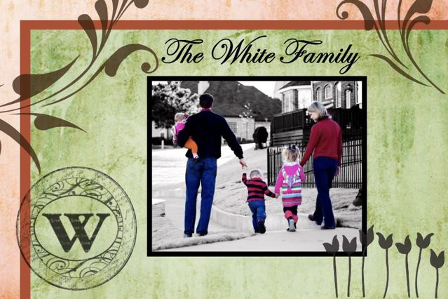 * The White Family *