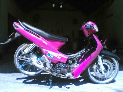 supra+fit+modification+pink Supra Fit Pink Ceper Modifikasi Motor Ceper Honda Velg Ninja