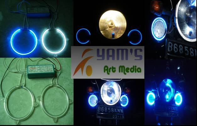 "Lampu Neon "" Angel Eye """