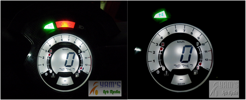 LED Speedometer Honda CS-1