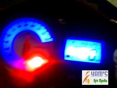 LED Speedo  biru-FU