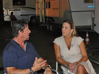 Stallone e Joana Prado
