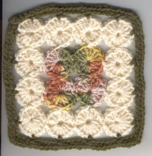 Crochet in Common: PINEAPPLE SUN SQUARE 6""