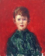 Niño Vestido de Verde 1921