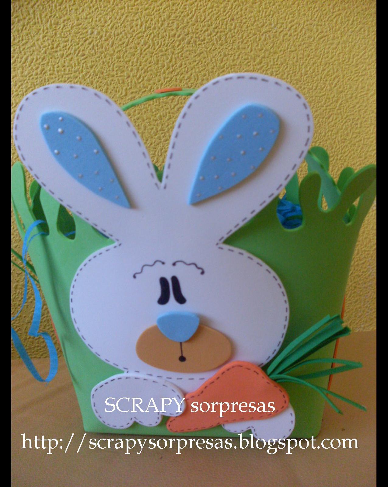 Canastas De Pascua Para Ninos