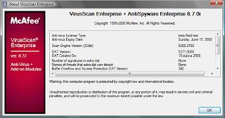 McAfee Virus Definitions 8210 Download Last Update