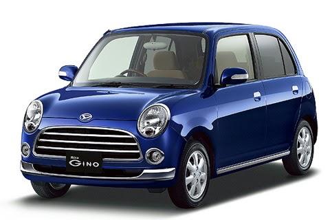 Japan Mini Car: Daihatsu Mira Gino