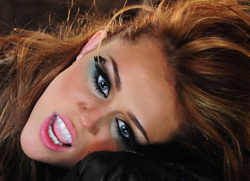 miley cyrus makeup. Miley Cyrus#39; makeup in her