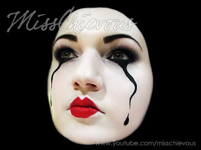 Mime Makeup Ideas