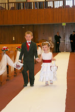 The Cutest Ring Bearer and Flower Girl ever