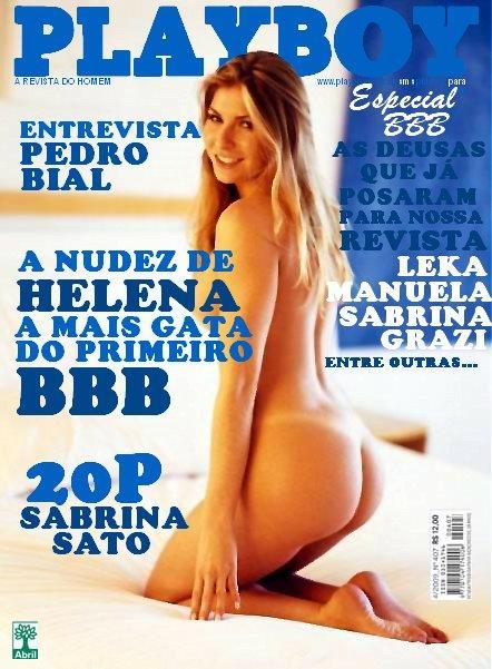 Fotos Da Helena Ranaldi Pelada Na Revista Playboy Debora Filmvz