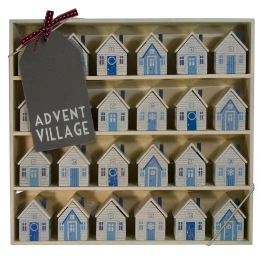 Advent Calendar Village Diy : Diario di una wedding planner meno calendari