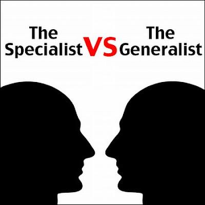 Generalis Vs Spesialist