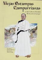 Portada de 'Viejas Estampas Campurrianas', de José Calderón Escalada, 'El Duende de Campoo', ilustrado por Alberto Gallo