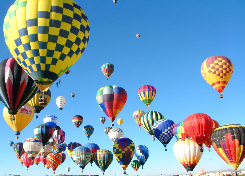 OUTDOORS NM: Albuquerque International Balloon Fiesta - What a Gas!