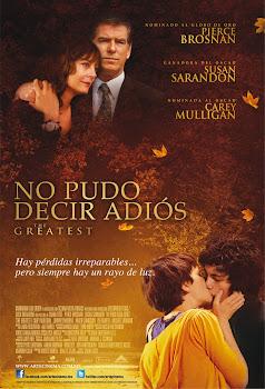Poster de No Pudo Decir Adios